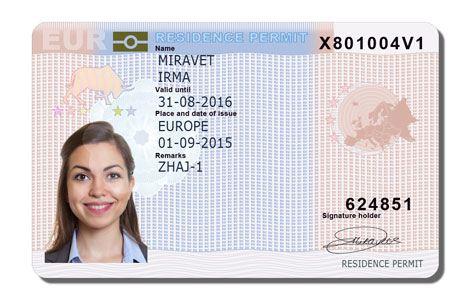 EU Card - Голубая карта ЕС
