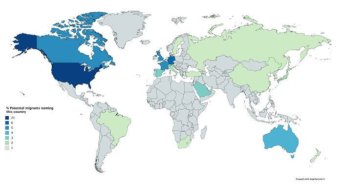 Работа за рубежом: популярные страны