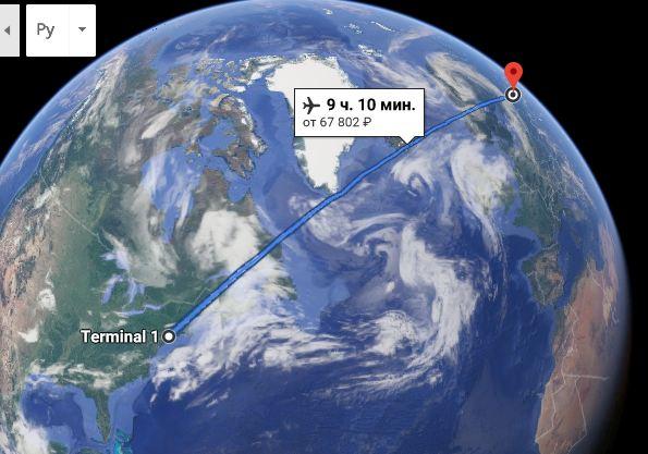 Сколько времени занимает перелет москва нью йорк